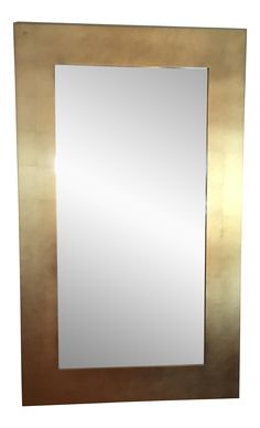 Donghia Gold Leaf Mirror