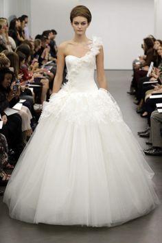 Vera Wang desfile NY Bridal Week