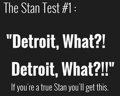 Only if you're a Stan...
