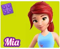 Mia, the Lego friend who is at the heart of so many adventures on our Rainbow Farm. She's  rides with horses and  Unicorns in DC's dream World #MNLegoJuniors