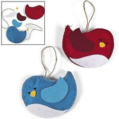 Bird Ornament Craft Kit - Crafts