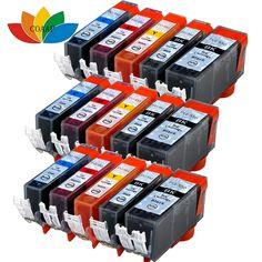 15 Canon Compatible cartridges PGI 550 CLI551 MX725 MX925 MG5450 MG5550 MG6350 IP7250