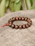 Great gift for someone I know...:)Jhoney Om Mani Padme Hum Bodhi Seed Mala
