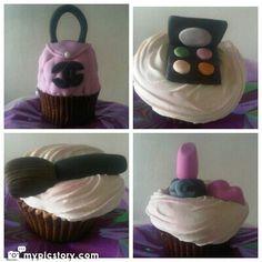 Cupcakes maquillaje