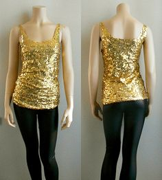 DIY PROJECT #19: HOLIDAY SEQUIN TANK TOP