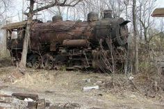 Abandoned slice of railroad history