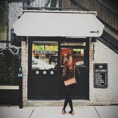 La Distributrice in Mt-Royal!  Great place to stop and smell the coffee being roasted... and also to have a drink! Just a outside of Mont-Royal Métro Station or find it on Crema app! @Ladistributrice