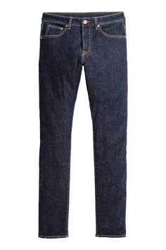 Skinny Jeans - Ciemnoniebieski denim - ON | H&M PL
