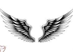 Tatto Design, Wing Tattoo Designs, Tattoo Sleeve Designs, Sleeve Tattoos, Neck Tattoo For Guys, Tattoos For Guys, Cool Tattoos, Alas Tattoo, Best Neck Tattoos
