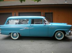 1956  -  FORD 2 DOOR RANCH WAGON