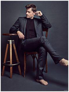 Nikolaj Coster Waldau Wears Designer Fashions for GQ España February 2015 Cover Shoot