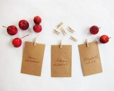30 Quick and Easy DIY Place Cards for Your Thanksgiving Table