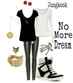 BTS Jungkook No More Dream inspired outfit