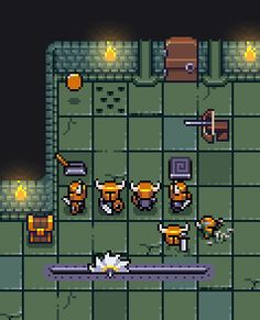 [OC] Just a little dungeon : PixelArt