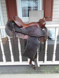 """15"""" Used Western Saddle"""