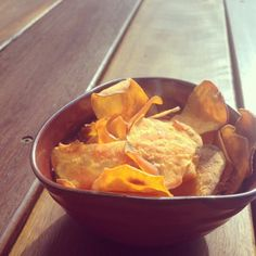 nesscooks: Vege Chips Chips, Healthy Eating, Food, Eating Healthy, Potato Chip, Healthy Diet Foods, Healthy Foods, Potato Chips, Eating Well