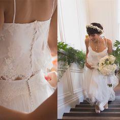 Bohemian Style Wedding Dresses, Bridal Separates, Two Pieces, Renaissance, Presents, Silk, Lace, Instagram, Fashion