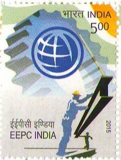 India Post has issued a commemorative postage stamp on Engineering Export Promotion Council of India on 24th November 2015 at Mumbai. EEPC India is the premier trade and investment promotion organization in India. It is sponsored by the Ministry of Commerce & Industry, Government of India and caters to the Indian engineering sector. As an advisory body it actively contributes to the policies of Government of India and acts as an interface between the engineering industry and the Government.
