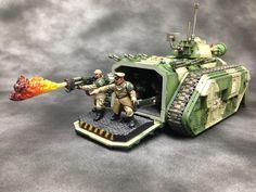 Imperial Guard Chimera Flamethrower #astra #militarum #guard #40k #wh40k…