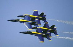 U.S. Navy fighter aircraft squadron that stages aerobatic performances at air shows and other events throughout the United States and around the world. The squadron, whose performances...