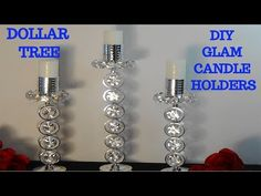 Diy Projects To Sell Dollar Tree Candle Holders 65 Super Ideas Dollar Tree Candle Holders, Dollar Tree Candles, Dollar Tree Decor, Dollar Tree Crafts, Diy Candles, Do It Yourself Home, New Wall, Dollar Stores, Bedroom Ideas