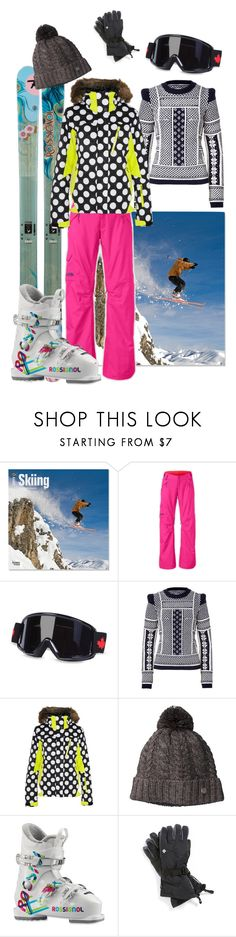 """""""Gone skiing"""" by blues-sister ❤ liked on Polyvore featuring Rossignol, The North Face, Dsquared2, Maison Margiela, House of Holland, Smartwool, Columbia, sport, ski and mountains"""