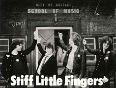 Stiff Little Fingers Rock Music, My Music, Stiff Little Fingers, Irish Rock, Belfast City, One Wave, Rock Groups, New Green, Psychobilly