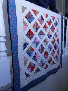 Diamonds In The Sky  Throw Baby or Youth by UglyDucklingStudio, $60.00 Diamonds In The Sky, Backyard Fireplace, Long Arm Quilting Machine, Longarm Quilting, Vintage Fabrics, Quilt Making, Youth, Delicate, Quilts