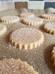 Recipe: Crunchy Cinnamon Sugar Biscuits, Two Ways - Eat Explore Etc - Desserts - Bu Vizyon Cinnamon Recipes, Baking Recipes, Cookie Recipes, Dessert Recipes, Biscuit Recipes Uk, Cinnamon Desserts, Cinnamon Sugar Cookies, Cinnamon Biscuits, Sugar Biscuits Recipe