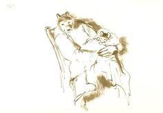 Ernest et Célestine - La naissance par Gabrielle Vincent - Illustration