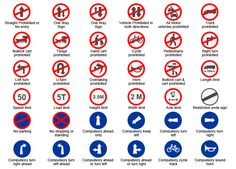 Traffic Signs In India Pictures And Symbols