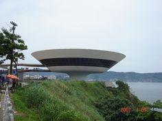 """MAC """"Museun of Art Contemporanea"""" Niteroi - Oscar Niemyer -Brasil"""
