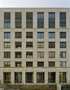 baumschlager eberle: Residential Building Ententeich