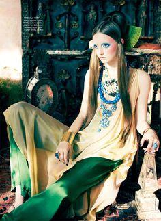 Orient Excess   Codie Young   Nicole Bentley #photography   Vogue Australia April 2011
