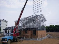 horsea specialized in the light steel buildingsChina Steel Consruction Steel Buildings, Prefab, Second Floor, Steel Frame, The Locals, Period, Environment, Construction, China