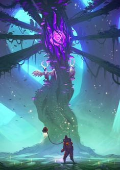 Heart of the forest by #BeauLamb #art #scifi #concept