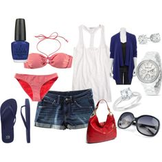 Polyvore summer outfit
