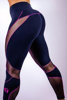 BootyQueen Mesh Legging in 2 awesome colors - by Amanda Kuclo (Amanda Latona)