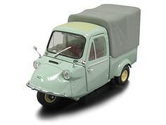Daihatsu Midget MP4 Canvas Top (1959) Diecast Model Car by Ebbro 43855 This Daihatsu Midget MP4 Canvas Top (1959) Diecast Model Car is Green and features working wheels. It is made by Ebbro and is 1:43 scale (approx. 6cm / 2.4in long). #Ebbro #ModelCar #Daihatsu #MiniModelCars