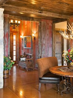 reclaimed hill country style. High Ridge Ranch - burlesondesigngroup
