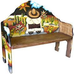 Mexican Painted Tables | Mexican Painted Furniture