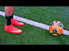 Juan Mata & Ronaldinho Incredible 1st Touch Tutorial - Control A Football Tutorial - YouTube