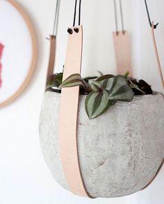 Hanger / vaso concreto