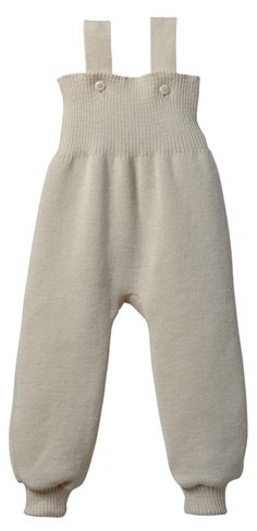 Disana Organic wool knitted overalls