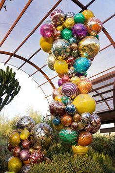 chihuly+phoenix+2014 | Chihuly in the Garden, Desert Botanical Garden, Phoenix, AZ
