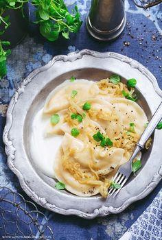 Wegańskie pierogi (ruskie z tofu)