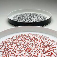 Kiatto ceramic plate centertable 45 cm diameter different colours luigi Pulvirenti designer product by Kalacte_design #ceramic #art #design #interiordesign #home #ceramica #interiordesign #italia #sicilia