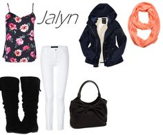 Jalyn, an outfit for a friend.