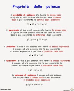 n. 1 - I termini delle operazioni      Ed ora un po' di frazioni ...    n. 2 - Frazioni         n. 3 - Frazioni ...        nr. 4 - Frazion... Study Methods, Study Tips, Math Tutor, Teaching Math, Algebra, Italian Lessons, Simple Math, School Play, Learning Italian