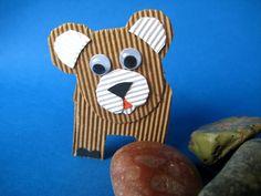 bricolage en papier et carton, animaux en carton bricolage enfant
